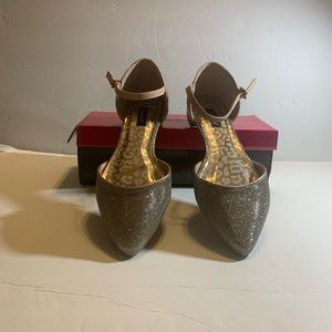 Martini rose gold shoes